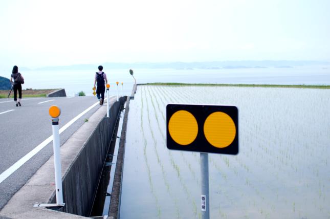 Teshima Island.豊島にて。
